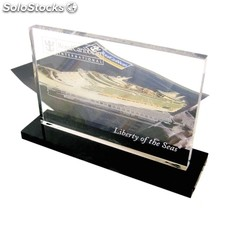 Small Standard Acrylic Trophy
