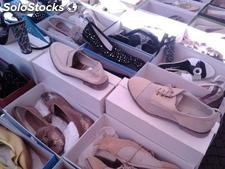 Small woman shoes stock