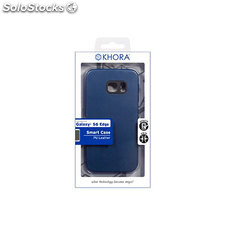 Smart case pu leather blue sam S6 edge