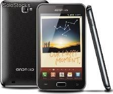 """smart tablet phone 5"""" android4.0 Copia samsung i9220 wcdma Bluetooth gps mtk6575"""