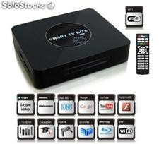 smart tv box google android4.0 cortex-a9 1.4Ghz ram1g wifi hdmi rj45 usb sd