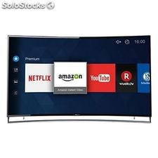 "Smart tv hisense 65xt910 65"" ultra hd 4k 3d uled wifi negro/plata"