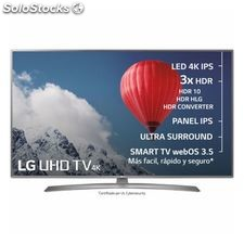 "Smart tv lg 70UJ675V 70"" Ultra hd 4K wifi HDR10 Plata"