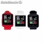 Smart watch rubber rojo