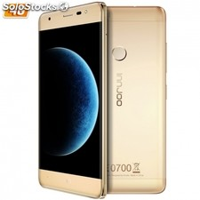 "Smartphone innjoo halo 3 4G gold - qc 1.1GHZ - 16GB - 1GB ram - 5""/12.7CM ips hd"