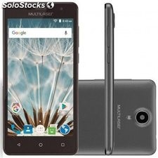 Smartphone Multilaser MS50S P9034 Tela 5.0 16GB Câmera 8MP Self 5MP Quad Core