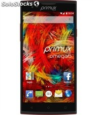 "Smartphone primux omega 6 5.5"" ips 8GB bk/red"