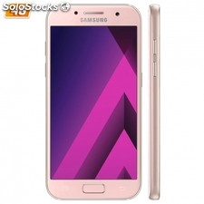 "Smartphone samsung galaxy A3 (2017) peach - 4.7""/12CM - cam 13/8MP - oc 1.6GHz -"