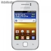 "Smartphone samsung galaxy y duos gt-S6102 3.1"" pure white/android"