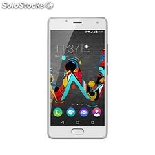 "Smartphone wiko mobile u Feel 5"" hd ips Quad Core 1.3 GHz 16 GB 4G Crema"