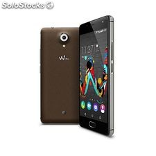 "Smartphone wiko mobile u Feel 5"" hd ips Quad Core 1.3 GHz 16 GB 4G Marrón"