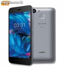 """smartphone wolder wiam #34 grey - 5""""/12.7CM ips hd - cam 8/13MP - qc 1.3GHz -"