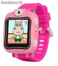 Smartwatch Kids Wowatch Rosa (Foto y Video)