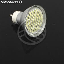 Smd GU10 led Bulb 3W 230VAC warm light 120 ° 50mm (NC54)