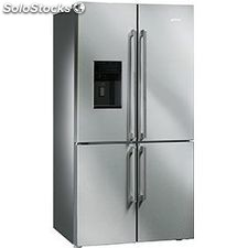 Smeg FQ75XPED side by side seleccion 4 puertas 91CM a+ inox