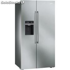 Smeg SBS63XED side by side seleccion no frost a+ dispensador inox