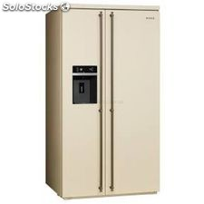 Smeg SBS8004PO side by side colonial no frost a+ dispensador crema