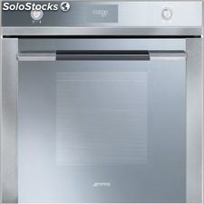 Smeg SF106 horno silver glass inox multifuncion abatible a