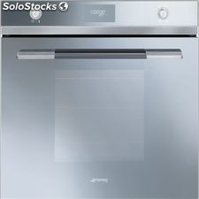 Smeg SF109S horno silver glass multifuncion abatible a