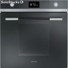 Smeg SF122NE horno negro multifuncion abatible a+