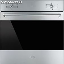 Smeg SF6341GX horno inox gas estatico abatible a
