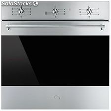 Smeg SF6381X horno inox multifuncion abatible a