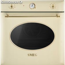 Smeg SF855P horno crema oro multifuncion abatible a