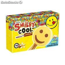Smiley bat van/choco X6 217G