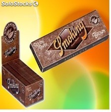SMOKING brown 1-1/4, cajas de 25 libritos
