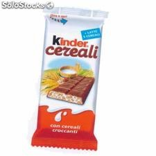 snach cereali kinder