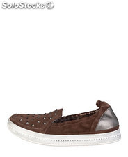 sneakers donna geox marrone (39239)