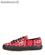 sneakers donna superga rosso (38748)