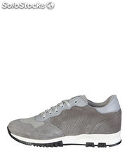 sneakers hombre made in italia gris (41972)