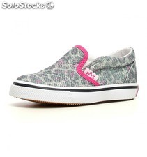 Sneakers leopardo con brillantina wizz