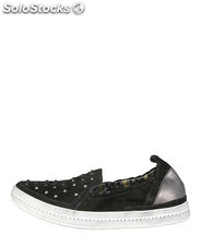 sneakers mujer geox negro (39238)