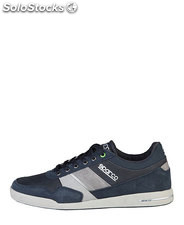sneakers uomo sparco blu (37336)