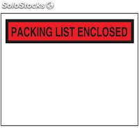 Sobres Packing List