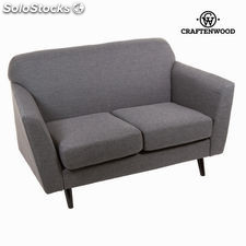 Sofá 2 plazas abbey gris - Colección Love Sixty by Craftenwood