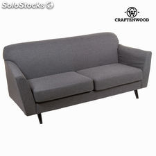Sofá 3 plazas abbey gris - Colección Love Sixty by Craftenwood
