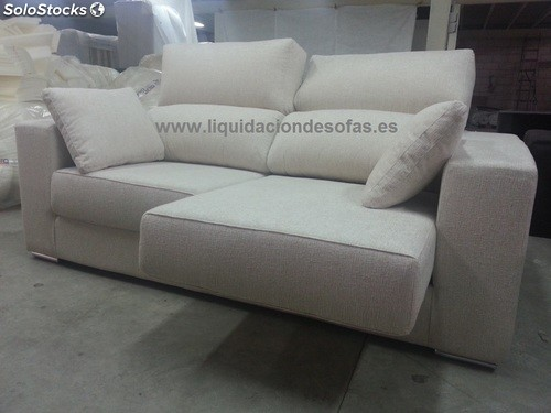 Sof 3 plazas extraible y reclinable barato for Sofas muy baratos