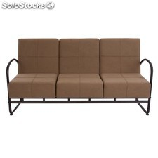 Sofa 3 plazas marron 1119297