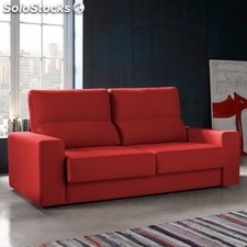 Sofá 3 plazas TUK 192 - Color - Freedom123Rojo