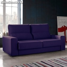Sofá 3 plazas TUK 192 - Color - Freedom125Morado