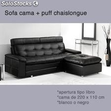 Sofa cama chaislongue