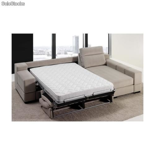 Sofa cama chaise longue arcon for Sofa cama chaise longue