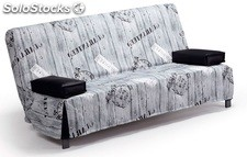 Sofa cama desenfundable export 195 cm
