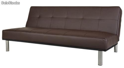 Sofas de polipiel trendy sofa plazas de piel combinada for Sofas baratos alicante
