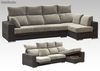 Sofa chaislongue extensible / reclinable con arcon - 280 cm