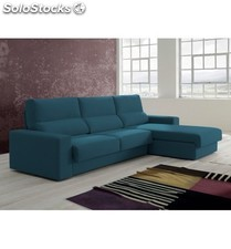 Sofá dos plazas con chaiselongue modelo 1512 disponible en varios col