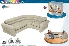 Sofa hinchable rinconera